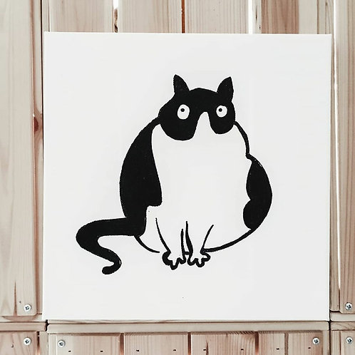 Fat Cat 02 | Little Black Art