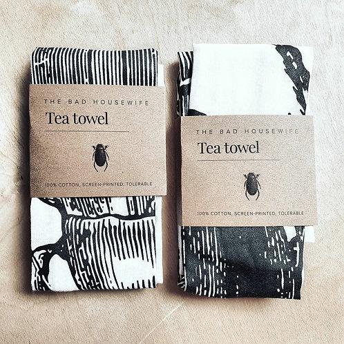 The Bad Housewife Tea Towels