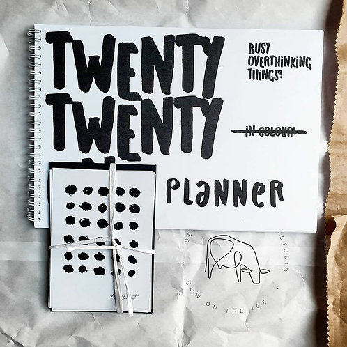 Busy Overthinking Things | 2021 Minimal Planner