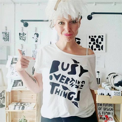 BUSY OVERTHINKING | Art Tee