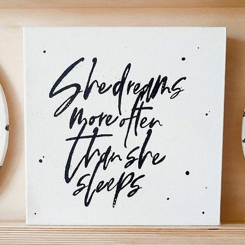 She Dreams | Little Black Art
