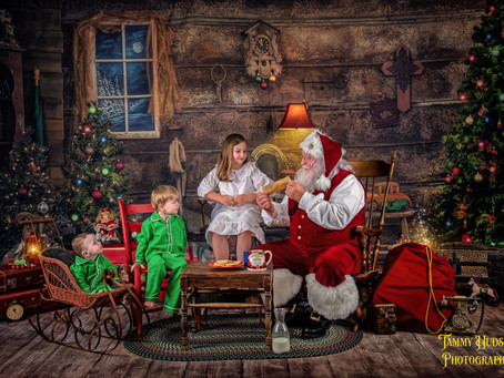 Fine Art Santa Sessions