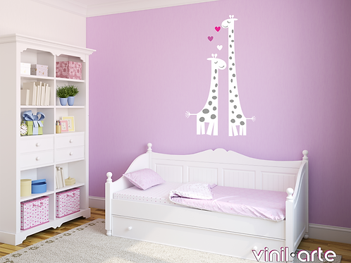 340 - Mom & baby giraffe