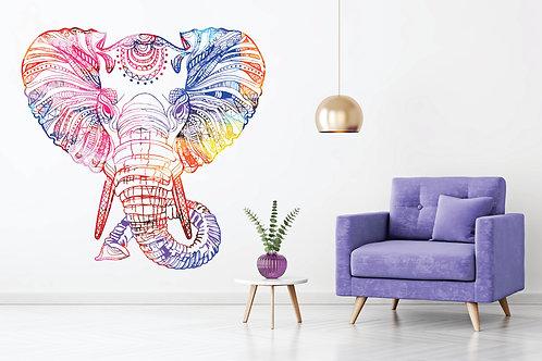 472 - Face Elephant