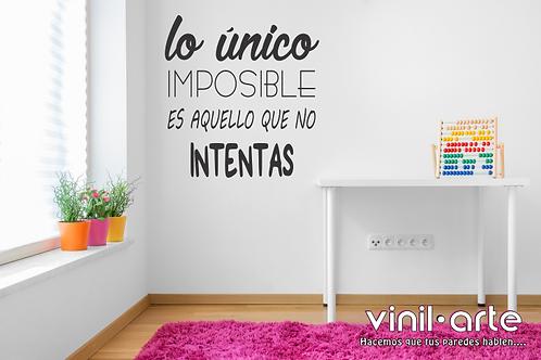 328 - Lo único imposible