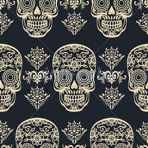 "Papel Tapiz ""Skulls"""