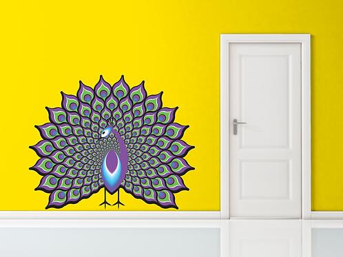 061 - 3D Peacock