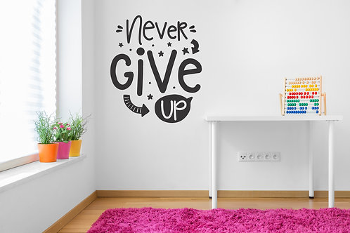 526 - Never Give Up