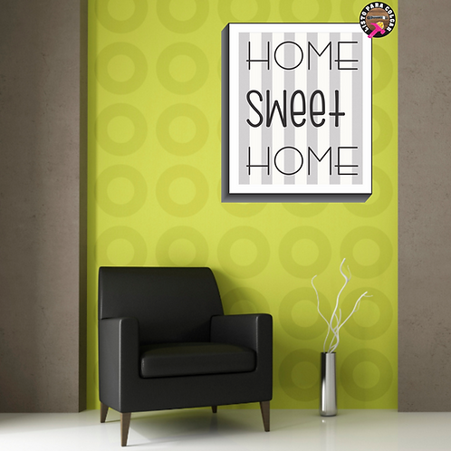 C035 - Home Sweet Home Gray