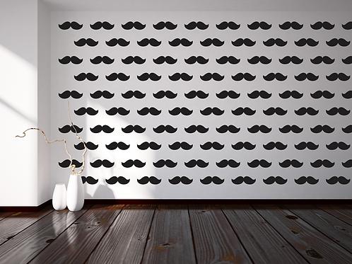 174 - Black Moustache