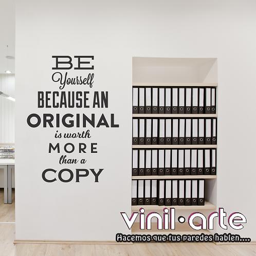 309 - Be original...