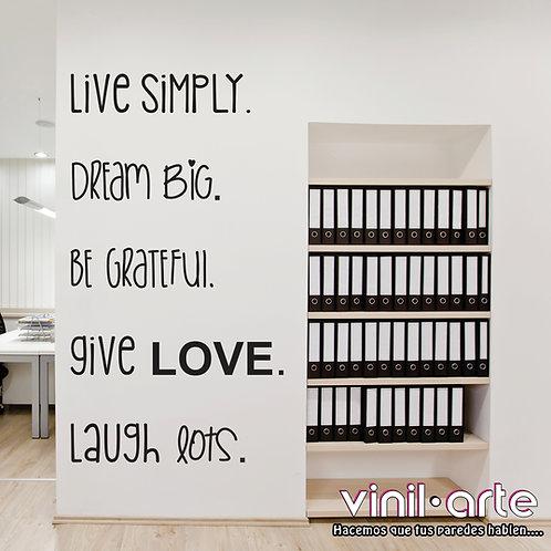263 -Live Simply