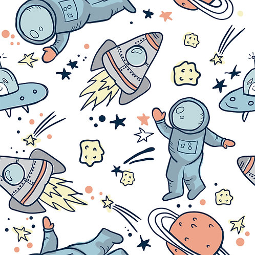 "Papel Tapiz Infantil ""Astronauta"""