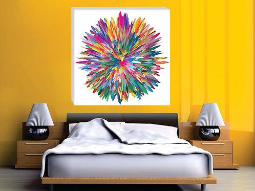 """C048 - """"Flor de Colores"""""""