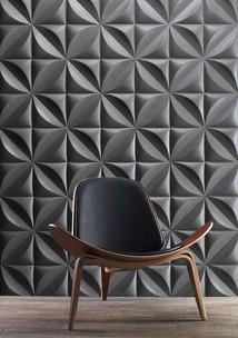 Paneles-3d-gris-formando-rombos-Grey-3d-