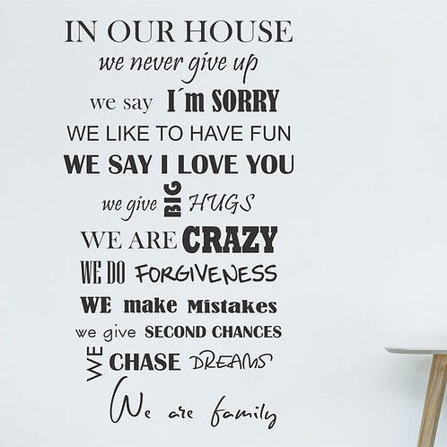 354 - In our house