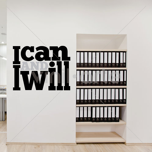 VA007 -I Can and I Will