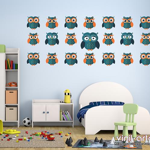 331 - Baby Boy Owls