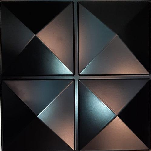 "Panel 3D ""D023N"" NEGRO"