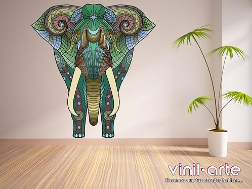 396 - Green Elephant