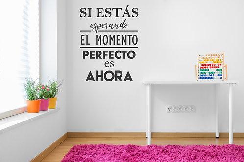 537- El momento perfecto es ahora