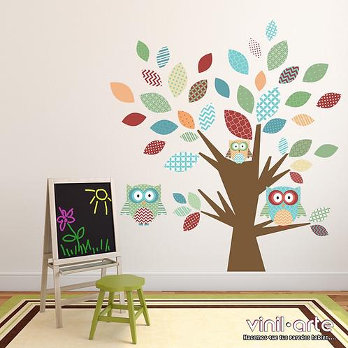 372 - Baby Owls Tree 2