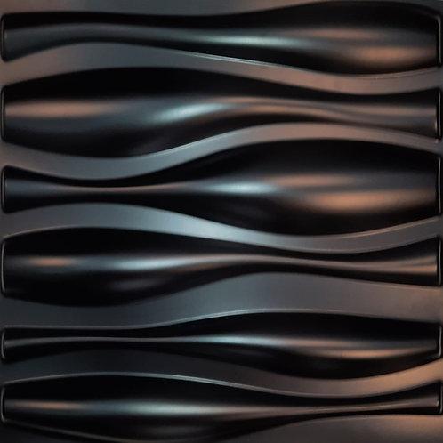 "Panel 3D ""D026N"" NEGRO"