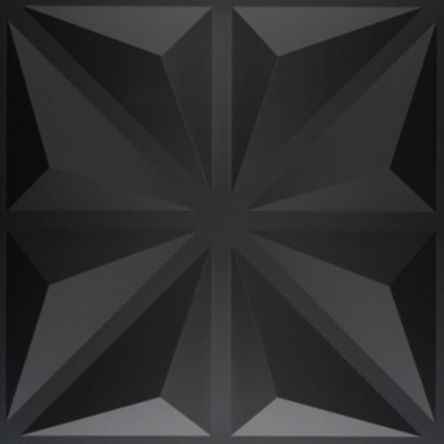 "Panel 3D ""D032N"" NEGRO"