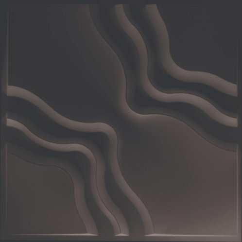 "Panel 3D ""D153N"" NEGRO"