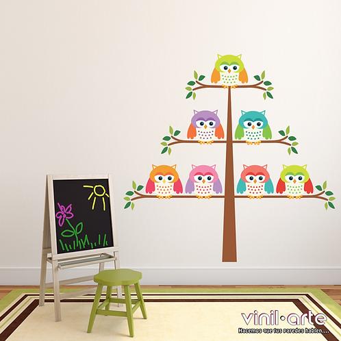 371 - Baby owls tree