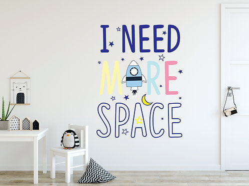 467 - I need more space