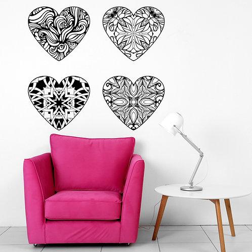 532- 4 corazones