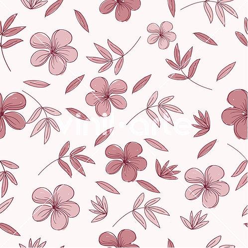 "Papel Tapiz ""Flowers"""