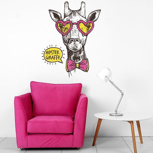 529- Hipster Giraffe