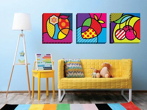 "C056SET - ""Frutas POP"""