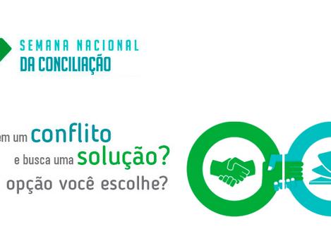 Semana da Conciliação terá mais de 44 mil audiências, em Minas Gerais