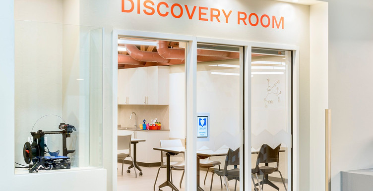 Discovery Room Maker Space