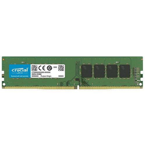 MEMORIA RAM DDR4 16 GB CRUCIAL PC 2666 MHZ SIN BLINDAR