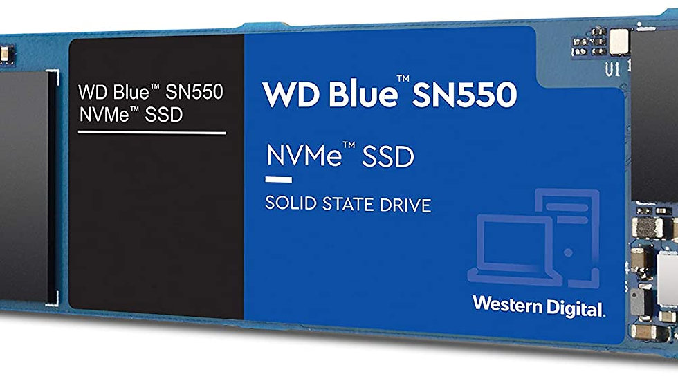 DISCO SOLIDO 500GB WESTER DIGITAL M.2 BLUE