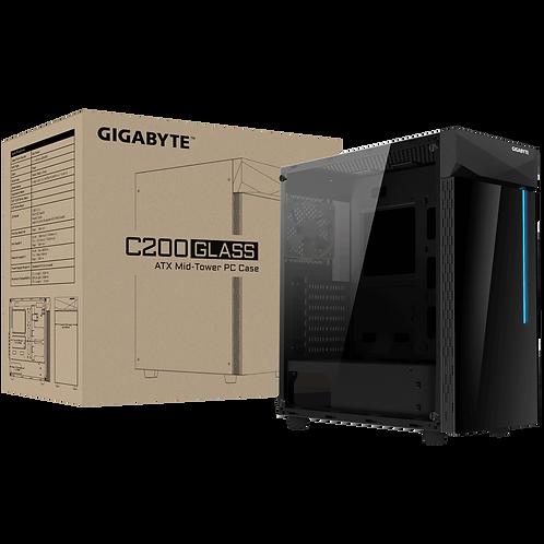 CAJA GIGABYTE C200 GLASS