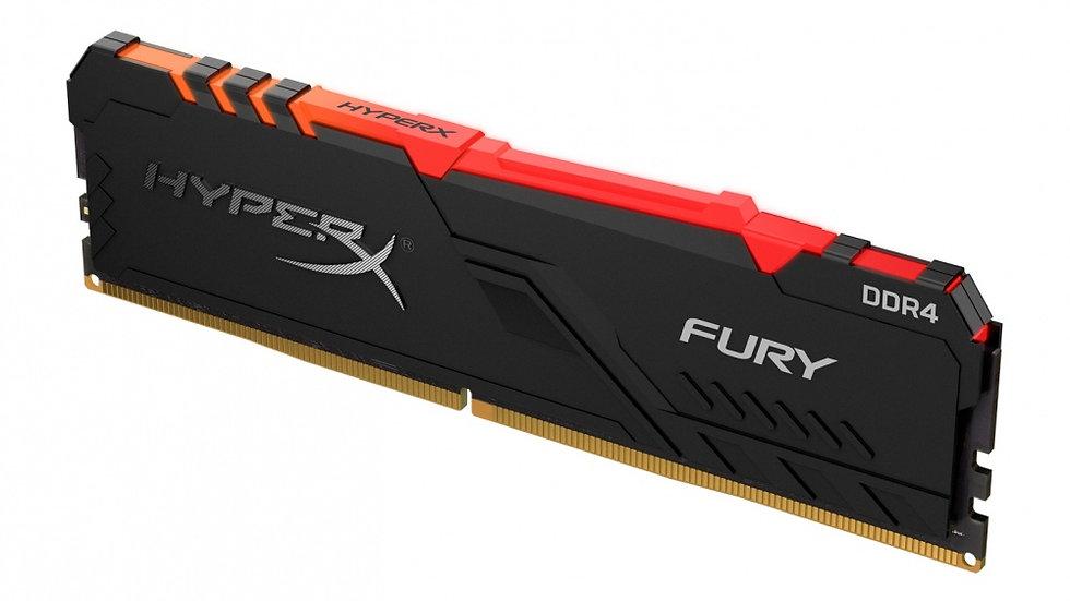 MEMORIA RAM DDR4 8 GB KINGSTON HYPERX FURY PC 3733 MHZ RGB
