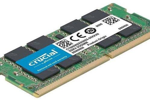 MEMORIA RAM DDR4 8GB PORTATIL CRUCAL PC 2666 MHZ