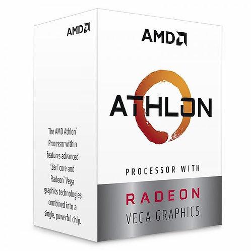 PROCESADOR AMD ATHLON 3000G 3.5 GHZ + VEGA 3