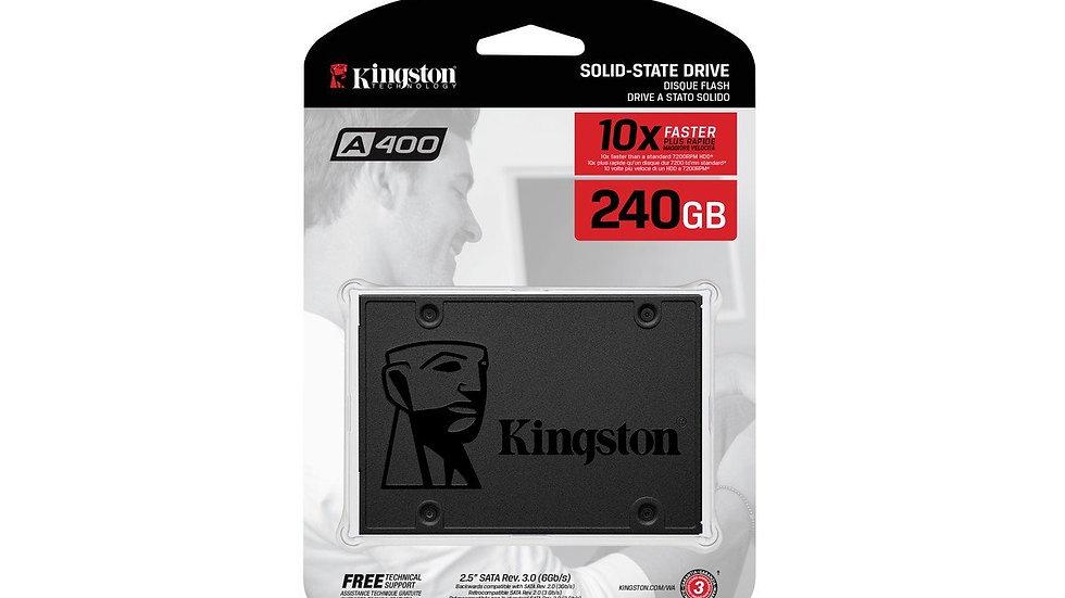 DISCO ESTADO SOLIDO SSD 240 GB KINGSTON A400