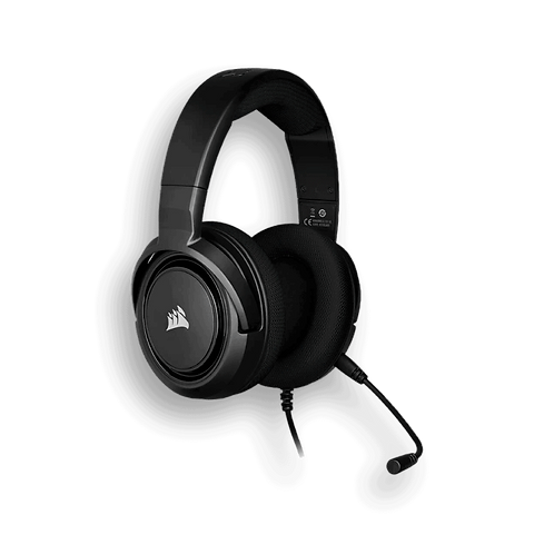 DIADEMA GAMER HS45 CARBON SURROUND