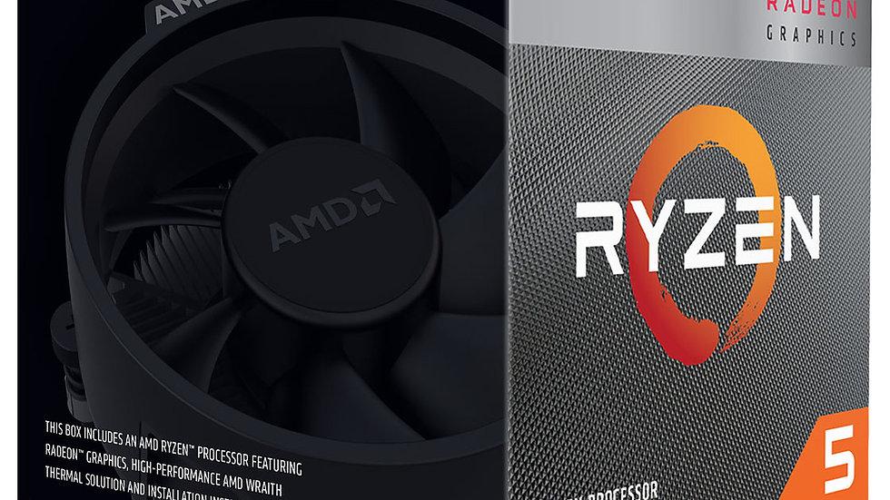PROCESADOR AMD RYZEN 5 3400G 3.7 GHZ
