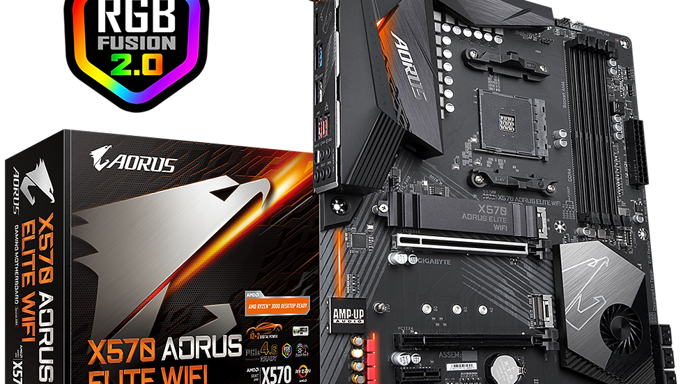 BOARD GIGABYTE X570 AORUS ELITE WIFI