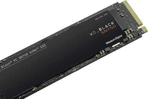 DISCO SOLIDO 250GB WESTER DIGITAL M.2 NVMe BLACK