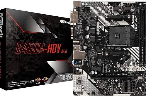 BOARD ASROCK B450M HDV 4.0