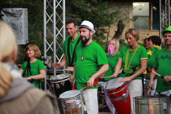 Rosinhas Trommelgruppe in Osnabrück